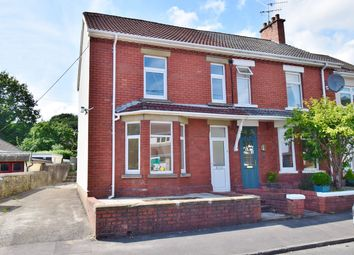 Thumbnail 3 bed semi-detached house for sale in The Crescent, Machen, Caerphilly