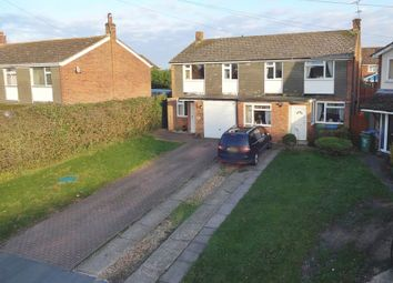 Thumbnail 3 bed semi-detached house for sale in The Close, Great Horwood, Milton Keynes