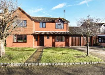 Thumbnail 4 bed detached house for sale in Windmill Field, Windlesham, Surrey
