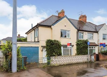 Thumbnail 3 bed end terrace house for sale in Fletcher Road, Beeston, Nottingham