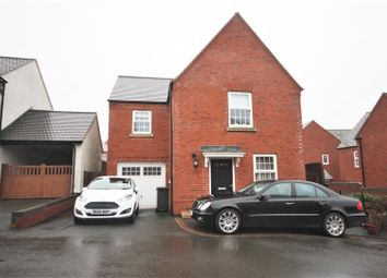 Thumbnail 3 bed detached house for sale in Battleflat Drive, Ellistown, Coalville