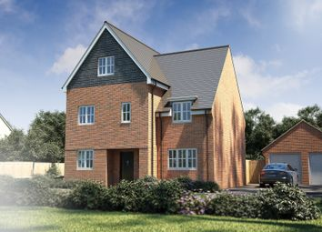 "Thumbnail 4 bedroom detached house for sale in ""The Silchester"" at Winchester Road, Fair Oak, Eastleigh"