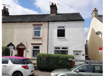 Thumbnail 3 bed end terrace house for sale in John Street, Stoke-On-Trent