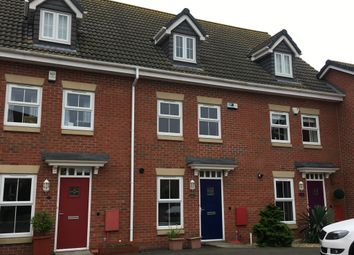 Thumbnail 3 bed town house for sale in Mellors Road, Edwinstowe, Mansfield