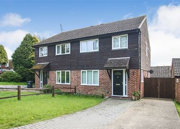 Thumbnail 3 bed semi-detached house for sale in Court Crescent, East Grinstead, West Sussex