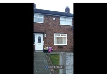 Thumbnail 3 bed terraced house to rent in Newton Road, St. Helens