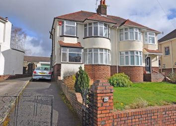 3 bed semi-detached house for sale in Bay-Fronted House, Ridgeway Avenue, Newport NP20