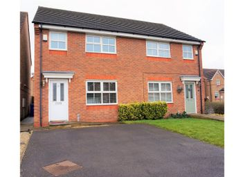 Thumbnail 3 bed semi-detached house for sale in Onsetter Road, Stoke-On-Trent