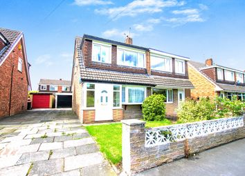 Thumbnail 3 bedroom semi-detached house for sale in Riverside Avenue, Irlam, Manchester