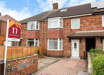 Thumbnail 3 bed town house for sale in Jute Road, Acomb, York