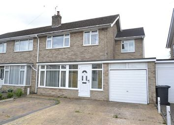 Thumbnail 4 bed semi-detached house for sale in Marlborough Crescent, Long Hanborough, Witney, Oxfordshire