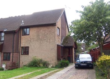 Thumbnail 1 bed end terrace house to rent in Galahad Road, Ifield, Crawley