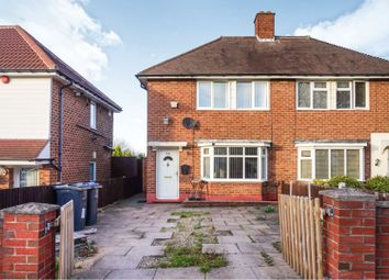 Thumbnail 2 bed semi-detached house for sale in Orpwood Road, Birmingham