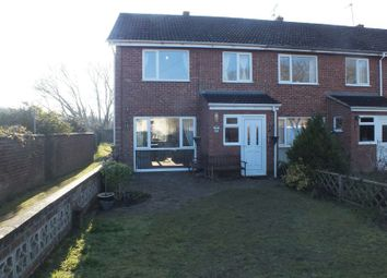 Thumbnail 3 bedroom terraced house for sale in Cross Keys Close, Horsham St. Faith, Norwich