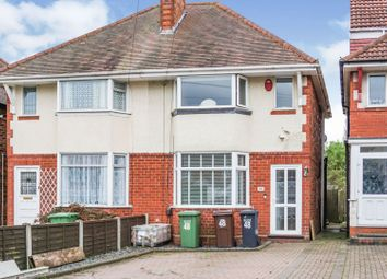 2 bed semi-detached house for sale in Hardwick Road, Solihull B92