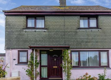 Thumbnail 2 bed semi-detached house for sale in Dinam Road, Caergeiliog, Holyhead