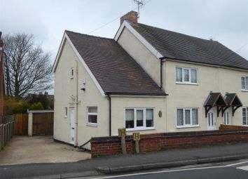 Thumbnail 3 bed cottage for sale in Westfield Road, Swadlincote