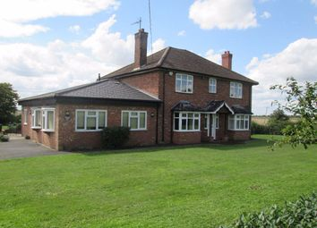 Thumbnail 4 bed detached house to rent in Church Road, Ten Mile Bank, Downham Market