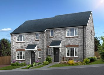 Thumbnail 3 bedroom semi-detached house for sale in Squires Meadow, Lea, Ross-On-Wye, Herefordshire
