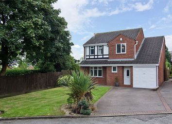 Thumbnail 4 bed detached house for sale in Swanfields, Burntwood