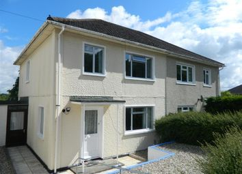 Thumbnail 3 bed semi-detached house to rent in Sussex Road, Harnham, Salisbury