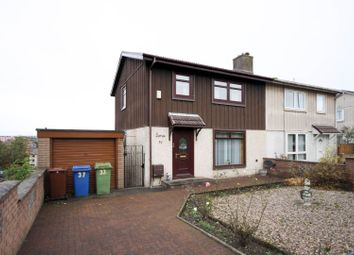 Thumbnail 3 bed semi-detached house for sale in Bellsmyre Avenue, Dumbarton