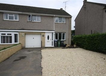 Thumbnail 3 bed semi-detached house for sale in Saxon Street, Chippenham, Wiltshire
