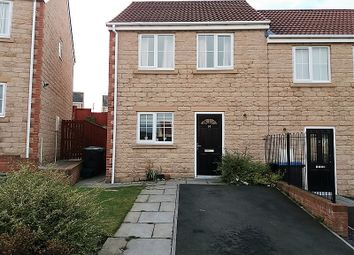 Thumbnail 2 bed end terrace house to rent in Oxford Place, Consett