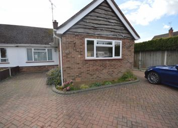 Thumbnail 2 bed bungalow to rent in Aubrey Close, Broomfield, Chelmsford