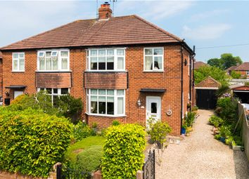 Thumbnail 3 bed semi-detached house for sale in Whitcliffe Grove, Ripon, North Yorkshire