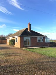 Thumbnail 3 bedroom detached bungalow to rent in Norwich Road, Fundenhall, Norwich