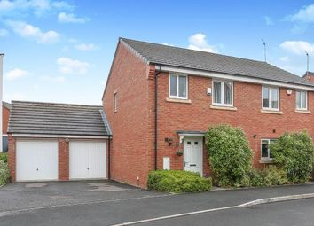Thumbnail 3 bedroom semi-detached house for sale in Gibraltar Close, New Stoke Village, Coventry, West Midlands