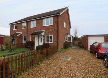 Thumbnail 2 bed end terrace house for sale in Broadfields Road, Gislingham, Eye