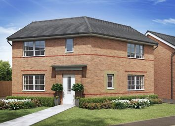 "Thumbnail 3 bed detached house for sale in ""Eskdale"" at Tiber Road, North Hykeham, Lincoln"