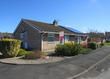 Thumbnail 2 bed semi-detached bungalow for sale in Leighton Road, Stockton-On-Tees