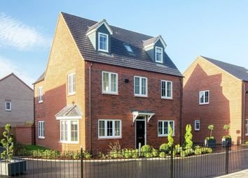 "Thumbnail 4 bed detached house for sale in ""The Oatvale"" at Kempton Close, Chesterton, Bicester"