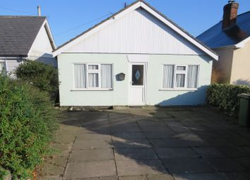 Thumbnail 2 bedroom bungalow for sale in Wisbech Road, March, Cambridgeshire
