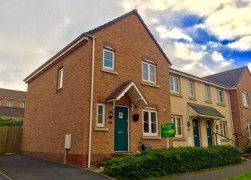 Thumbnail 3 bed semi-detached house to rent in Kingfisher Way, North Cornelly, Bridgend