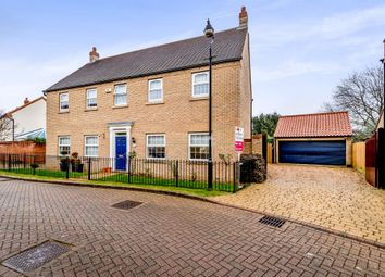 Thumbnail 5 bed detached house for sale in Oakley Rise, Wilstead, Bedford