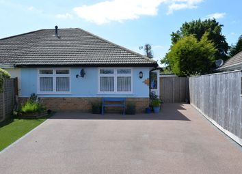 Thumbnail 2 bed semi-detached bungalow for sale in Hazelwood Avenue, New Milton