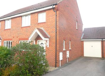 Thumbnail 3 bed semi-detached house for sale in Coltsfoot Close, Rushden