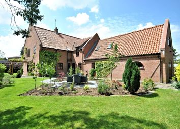 Thumbnail 5 bed detached house for sale in Church Road, Hilgay, Downham Market