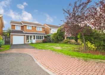 Thumbnail 4 bed detached house for sale in Barrasford Close, Gosforth, Newcastle Upon Tyne