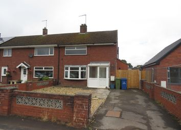Thumbnail 2 bed property to rent in Woodlands Road, Stafford