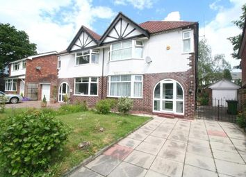 Thumbnail 3 bed semi-detached house for sale in Tenement Lane, Bramhall, Stockport, Cheshire