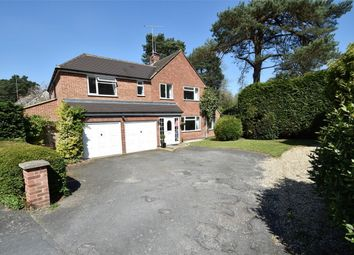 Thumbnail 5 bed detached house for sale in Browning Close, Camberley, Surrey