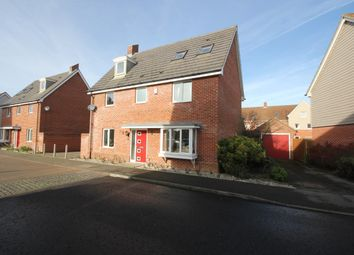 Thumbnail 5 bed detached house for sale in Linnet Road, Costessey, Norwich