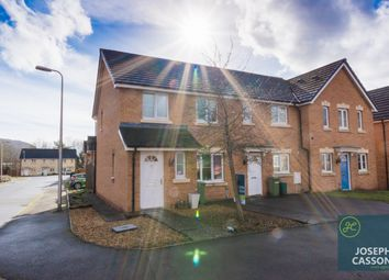 Thumbnail 3 bed end terrace house for sale in Maes Ifor, Taffs Well