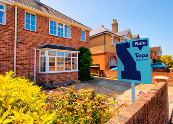 Thumbnail 3 bed semi-detached house for sale in Upper Moorgreen Road, Cowes