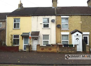 Thumbnail 2 bedroom terraced house for sale in St Pauls Road, Peterborough, Cambridgeshire.